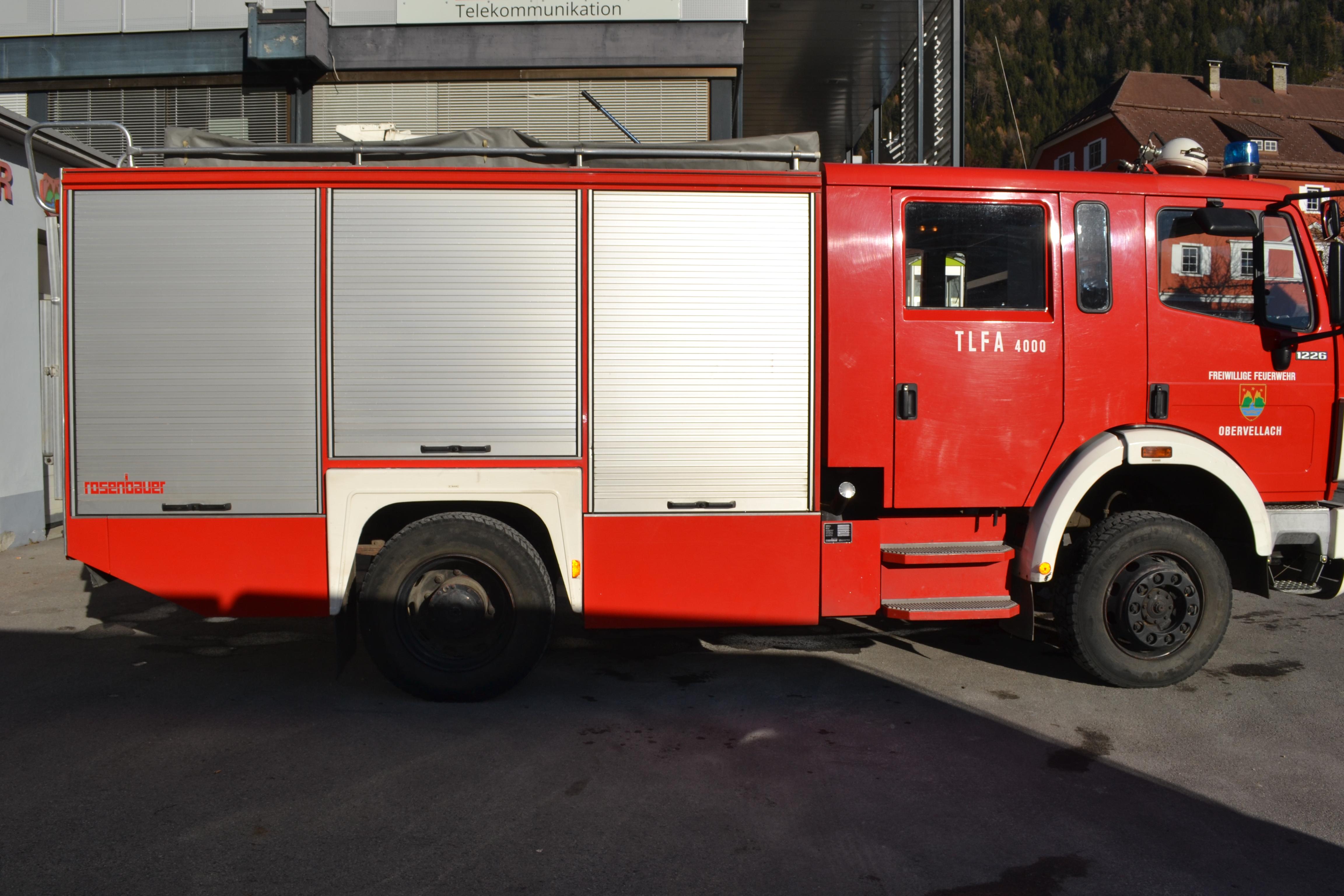 Tanklöschfahrzeug Allrad (TLF-A 4000)