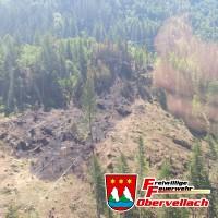Waldbrand Außerfragant - Tag 2