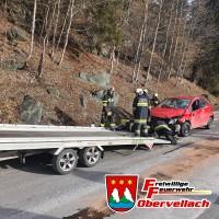 T VU 1 - Verkehrsunfall B105