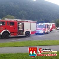 T VU 1 Verkehrsunfall B106 in Obervellach